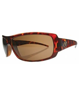 Electric Charge Sunglasses Tortoise Shell/Bronze Polycarbonite Polarized Lens