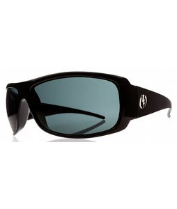 Electric Charge XL Sunglasses Gloss Black/Grey Lens