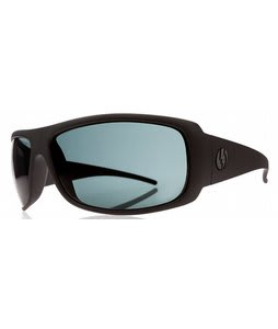Electric Charge XL Sunglasses Matte Black/Grey Lens