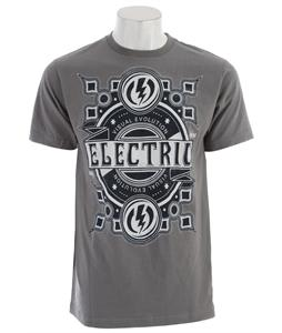 Electric Chopper T-Shirt Charcoal