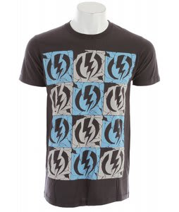 Electric Cracked T-Shirt Smoke Grey