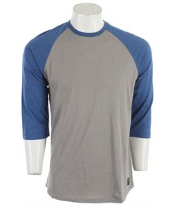 Electric Crowley II 3/4 Sleeve Shirt Raglan Blue