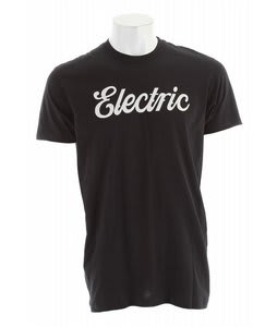 Electric Cursive T-Shirt Black