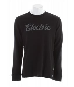Electric Cursive Thermal Black