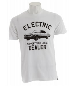 Electric Dealer T-Shirt White