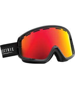 Electric EGB2 Goggles Gloss Black/Blue Fronds/Bronze/Red Chrome Lens