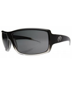 Electric EC/DC XL Sunglasses Black Clear Fade/Grey Lens