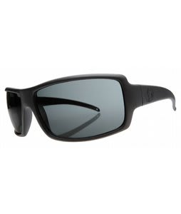 Electric EC/DC XL Sunglasses Matte Black/Grey PC Polarized Lens
