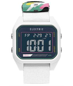 Electric ED01 Nato Watch White/New Wave