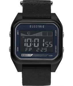 Electric ED01 Tide Nato Watch Black