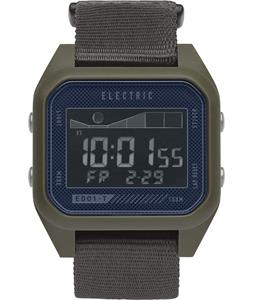Electric ED01 Tide Nato Watch Olive