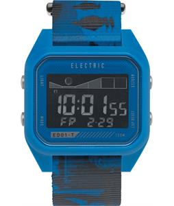 Electric ED01 Tide Nato Watch Twin Fin Blue