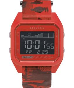 Electric ED01 Tide Nato Watch Twin Fin Red