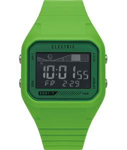 Electric ED01 Tide PU Watch Bright Green
