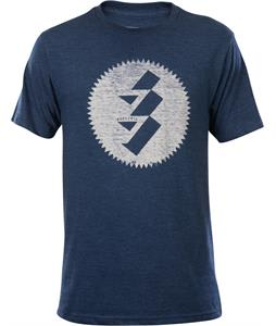 Electric Edged T-Shirt Heather Blue