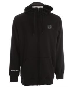 Electric Eg Riding Zip Snow Fleece Hoodie Black