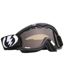 Electric EG1 Goggles Gloss Black Bronze/Silver Chrome Lens