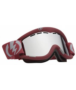 Electric EG1 Goggles Crimson Red/Bronze/Silver Chrome Lens