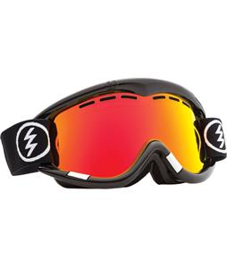 Electric EG1 Goggles Gloss Black/Bronze/Red Chrome + Bonus Lens