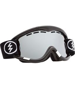 Electric EG1 Goggles Gloss White/Bronze/Silver Chrome + Bonus Lens