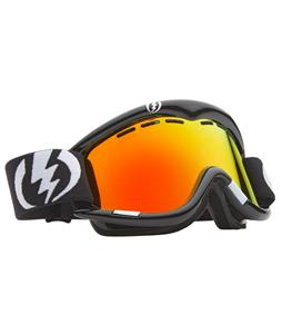 Electric EG1 Snowboard Goggles Gloss Black/Bronze/Red Chrome Lens