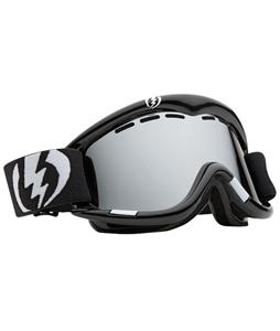 Electric EG1 Snowboard Goggles Gloss Black/Bronze/Silver Chrome Lens