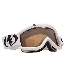 Electric EG1 Goggles Gloss White/Bronze Lens