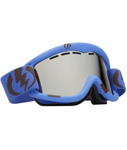 Electric EG1 Goggles Icy Blue Matte/Bronze Silver Chrome Lens