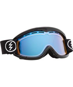 Electric EG1K Goggles Gloss Black/Yellow/ Blue Chrome Lens
