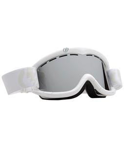 Electric EG1K Snowboard Goggles Gloss White/Bronze/Silver Chrome Lens