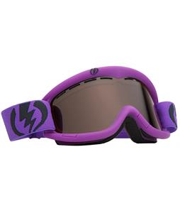 Electric EG1K Goggles Royal Purple Matte/Bronze Lens