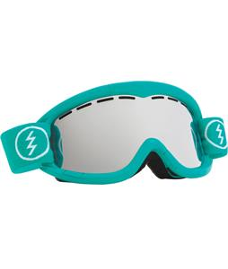 Electric EG1K Goggles The Real Teal/Bronze/Silver Chrome Lens