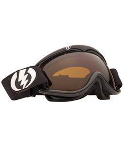 Electric EG1S Snowboard Goggles Gloss Black/Bronze Lens
