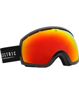 Electric EG2 Goggles Gloss Black/Bronze/Red Chrome And Bonus Lens