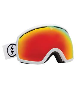 Electric EG2 Goggles Gloss White/Bronze/Red Chrome Lens