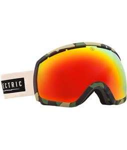 Electric EG2 Goggles Hemp/Bronze/Red Chrome And Bonus Lens