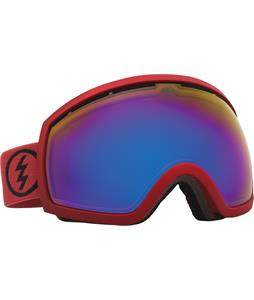 Electric EG2 Goggles Brick/Bronze/Blue Chrome Lens