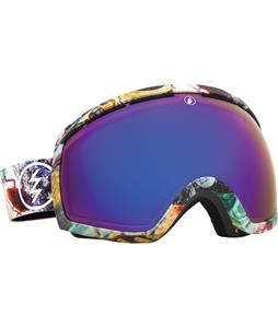 Electric EG2 Goggles East Side/Bronze/Blue Chrome Lens