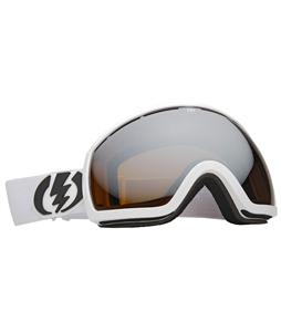 Electric EG2 Snowboard Goggles Gloss White/Bronze/Silver Chrome Lens