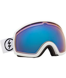 Electric EG2 Goggles Gloss White/Yellow/ Blue Chrome Lens