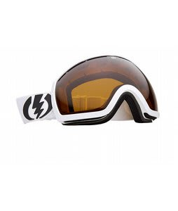 Electric EG2 Goggles Gloss White Bronze Lens