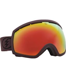 Electric EG2 Goggles Mississippi Mud/Grey/Red Chrome Lens