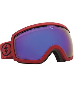 Electric EG2.5 Goggles Brick/Grey/Blue Chrome Lens