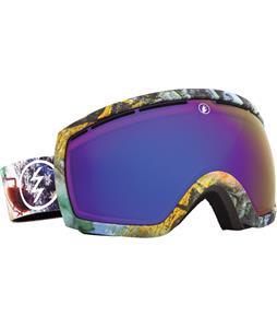 Electric EG2.5 Goggles East Side/Bronze/Blue Chrome Lens