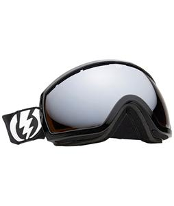 Electric EG2.5 Snowboard Goggles Gloss Black/Bronze/Silver Chrome Lens
