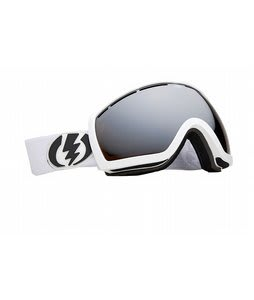 Electric EG2.5 Goggles Gloss White Bronze/Silver Chrome Lens