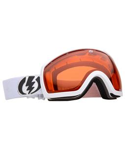 Electric EG2.5 Snowboard Goggles Gloss White/Orange Lens