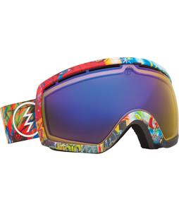 Electric EG2.5 Goggles James Haunt/Yellow/ Blue Chrome Lens