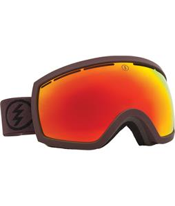 Electric EG2.5 Goggles Mississippi Mud/Bronze/Red Chrome Lens