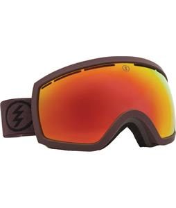 Electric EG2.5 Goggles Mississippi Mud/Grey/Red Chrome Lens